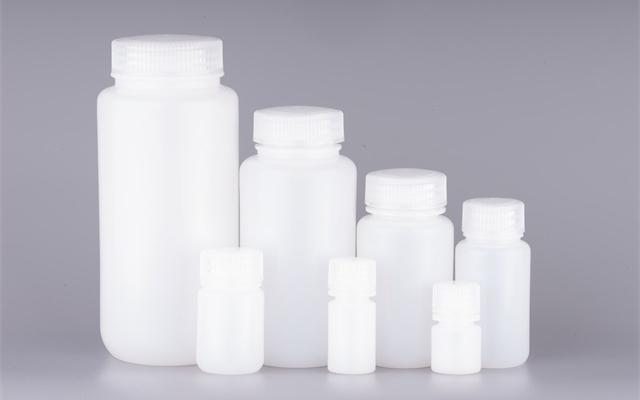 本色HDPE广口试剂瓶